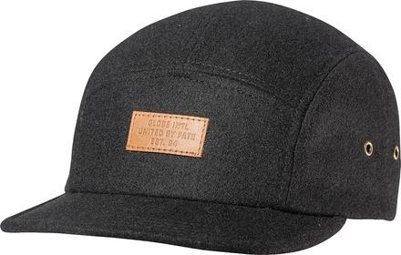 PALERMO 5 PANEL CAP (BLACK) picture
