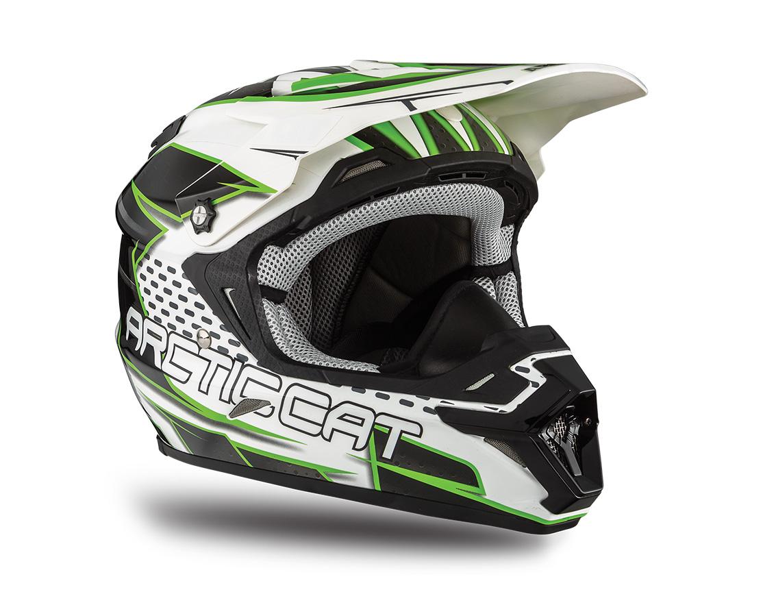 Arctic Cat Inc Mx Team Arctic Zr Helmet Green Large