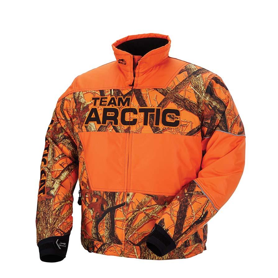 Arctic Cat Inc Arctic Sno Camo Jacket Orange Medium