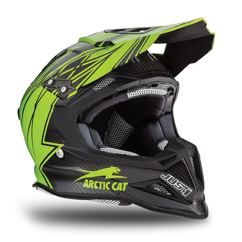 Arctic Cat Inc Mx Sno Cross Sno Pro Helmet Green