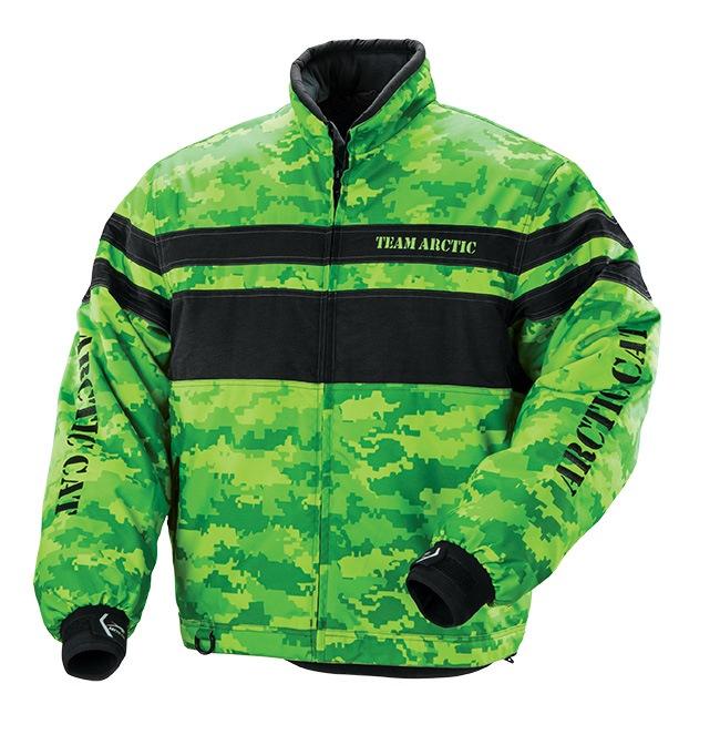 Arctic Cat Inc Pride Jacket Lime Medium Pride Black Lime