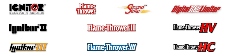Ignitor Electronic Ignition and Flame Thrower and Second Strike and DigitalRevLimiter