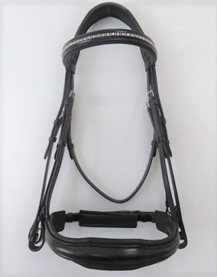 RED BARN PIAFFE WEYMOUTH DRESSAGE BRIDLE picture