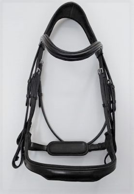 RED BARN ARENA ERGONOMIC DRESSAGE BRIDLE WEYMOUTH picture