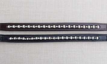 RED BARN PEARL & CRYSTAL BROWBAND picture