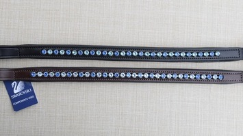 RED BARN TRUE BLUE BROWBAND picture