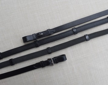 KL ITALIA SOFT GRIP REINS WITHOUT STOPS picture