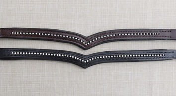 KL ITALIA PIROUETTE V-SHAPED BROWBAND picture