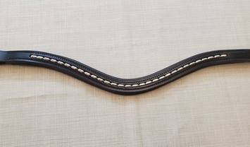 RED BARN CURVED TOPLINE BROWBAND picture