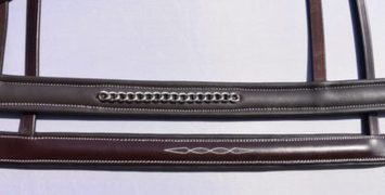 RED BARN CHAIN NOSEBAND picture