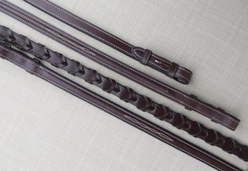 RED BARN FANCY LACED REINS picture