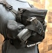 """RAPTOR"" MINI MULTI PURPOSE BINO/GUN CARRYING SYSTEM WITH HARNESS - BLACK additional picture 2"