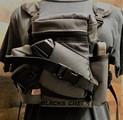"""RAPTOR"" MINI MULTI PURPOSE BINO/GUN CARRYING SYSTEM WITH HARNESS - TACTICAL GRAY"