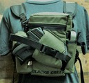 """RAPTOR"" MINI MULTI PURPOSE BINO/GUN CARRYING SYSTEM WITH HARNESS - RANGER GREEN"