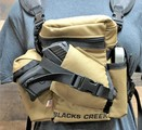 """RAPTOR"" MINI MULTI PURPOSE BINO/GUN CARRYING SYSTEM WITH HARNESS - COYOTE BROWN"