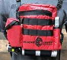 """""""RAPTOR"""" DEFENDER  MULTI PURPOSE OPTIC SYSTEM WITH HARNESS - RED"""