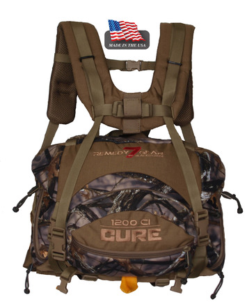 CURE lumbar pack - lost camo picture