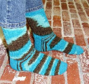Caribbean Chocolate Socks (pdf) picture