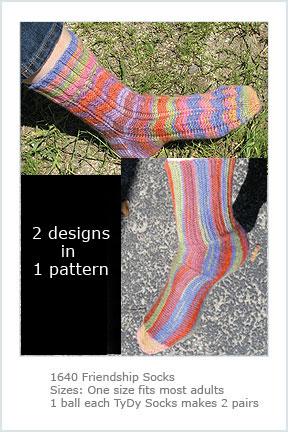 1640 Friendship Socks picture