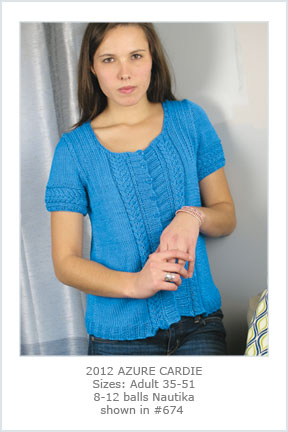 2012 Azure Cardie picture