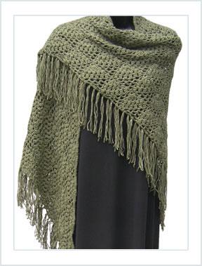 1281 Triangle Shawl - Crochet picture