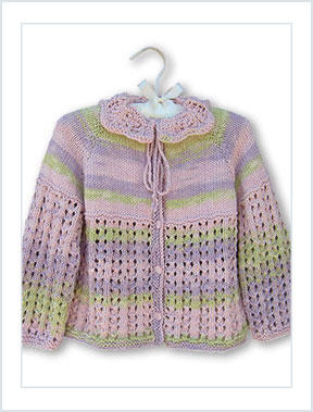 1520 Petals Baby Cardie picture