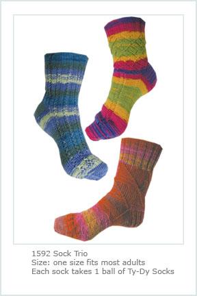 1592 Sock Trio picture