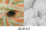 Vintage Colors Shawl Kit #611