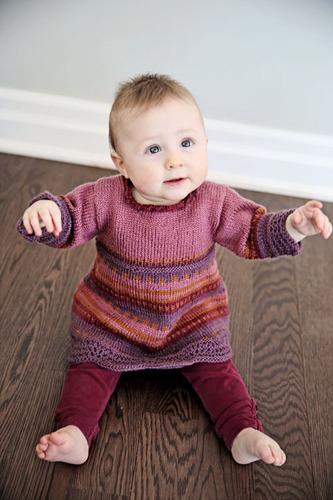 2136 Rosie Baby Dress - digital picture