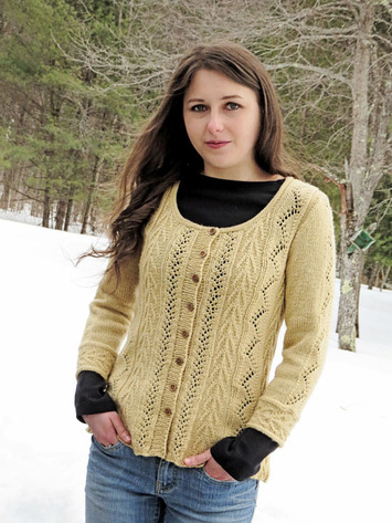 2130 Vines and Arrows Cardi picture