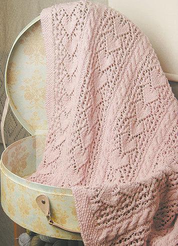 1986 Heirloom Hearts Baby Blanket-Digital picture