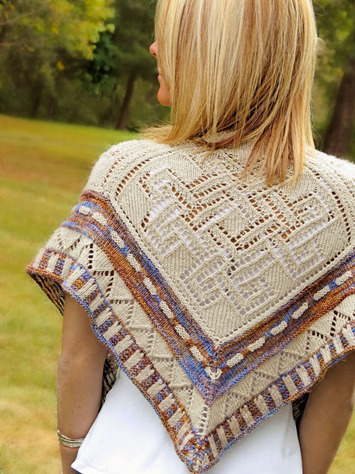 2308 High Chaparral Shawl-Digital picture