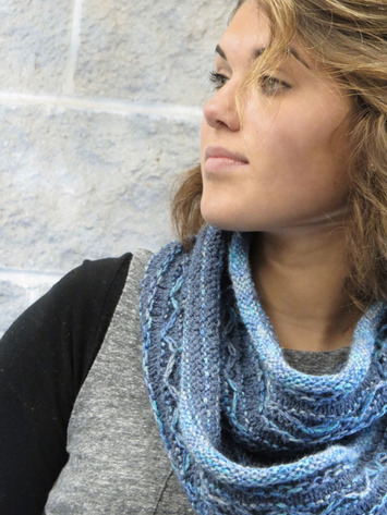 2180 Mixed Media Infinity Scarf picture