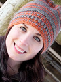 2172 Crochet Brim Hat