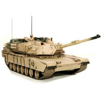Hobby Engine M1a2 Abrams Battle Tank - Desert picture