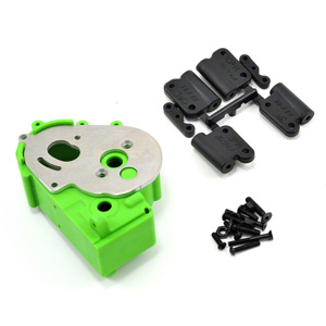 Rpm Traxxas 2Wd Hybrid Gearbox Housing And Rear Mounts Green picture