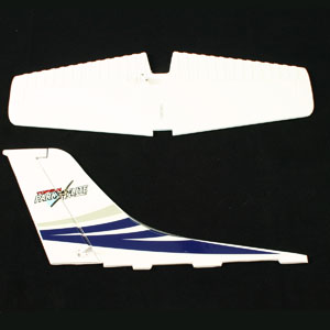 Top Gun Park Flite Cessna 182 Skylane Tail Wing (Blue) picture