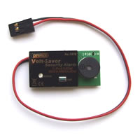 Prolux LiPo Volt-Saver Battery Low Voltage Alarm 2,3,4 Cell picture