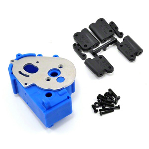 Rpm Traxxas 2Wd Hybrid Gearbox Housing And Rear Mounts Blue picture