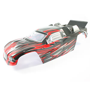 FTX Siege Red Painted Truggy B Ody picture
