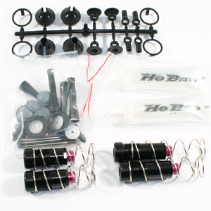 Hobao Hyper Ss/Vs/Cage Front/ Rear Shock Absorber Set (Set) picture