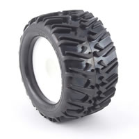 Hobao St Swoosh Tyres For Maxx Size Truggy - Iir Compound picture
