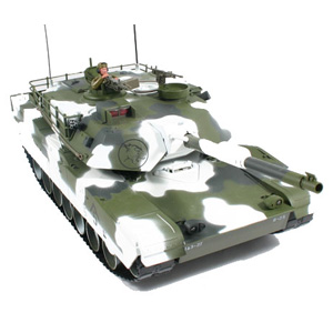 Hobby Engine Premium Label M1a1 Abrams 2.4g Tank - Winter picture