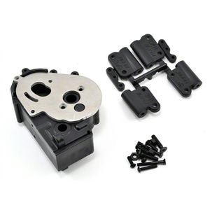 Rpm Traxxas 2Wd Hybrid Gearbox Housing And Rear Mounts Black picture