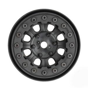 "Proline Denali 1.9"" Black/ Black Beadloc 8 Spoke Wheels picture"