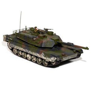 Hobby Engine Premium Label 2.4g M1a1 Abrams Tank - Camo picture