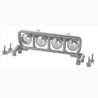 Rpm Narrow Roof Mounted Light Bar Set - Chrome picture
