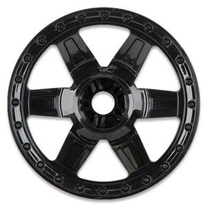 Pro-Line Desperado 3.8 Black 1/2 Offset Wheel (Traxxas Bead) 17MM Hex picture