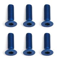 Team Associated Factory Team M3X10 Fhcs Blue Aluminium (6) picture