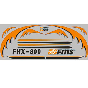 Fms Easy Trainer 800 Decal Sheet picture